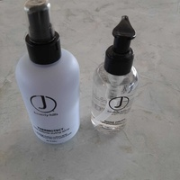 J beverly hills thermotect heat defence styling spray and shine drops