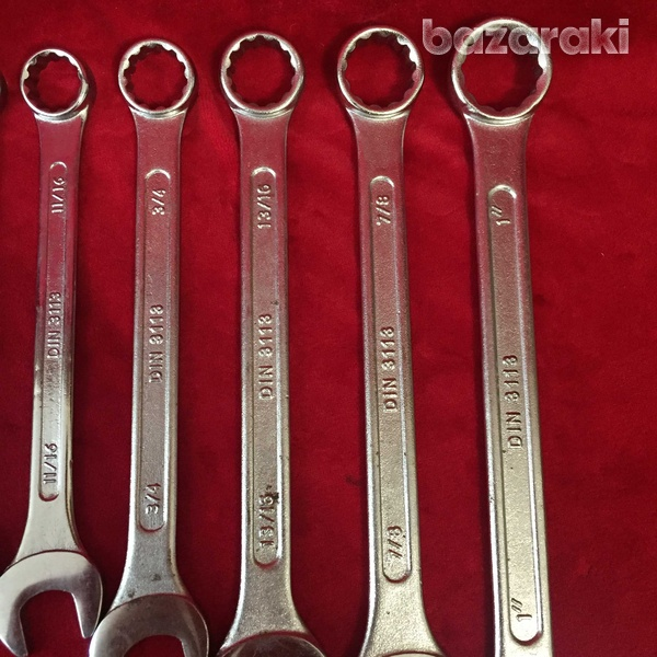 11 x af combination spanners / wrenches-5