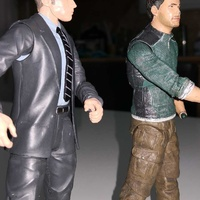 Two action figures set