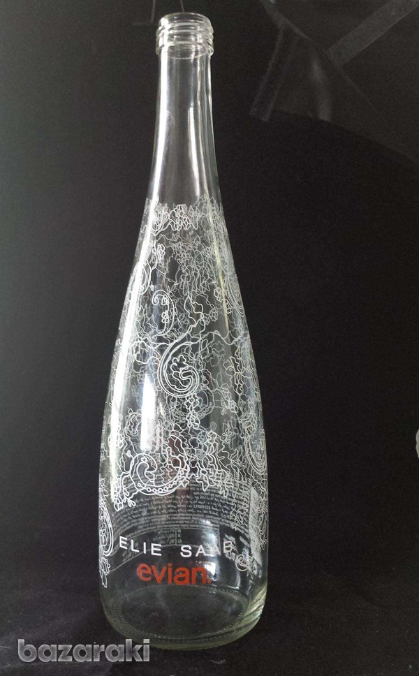 Evian 2014 limited edition bottle empty without the top