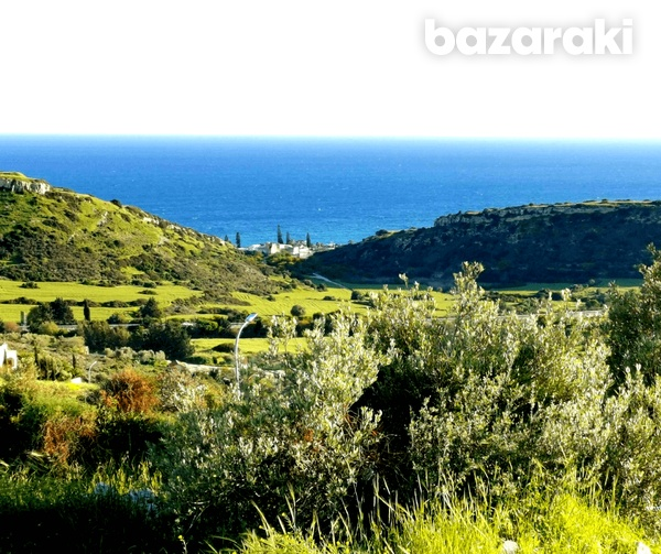 Land in ayios tychonas with unobstructed sea view-1