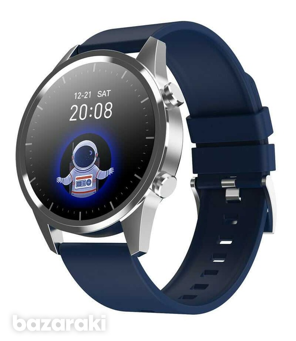 Fitness watch android ios make bluetooth call heart rate blood pressure-6
