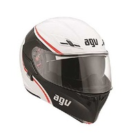 Compact agv multi-course wht/red