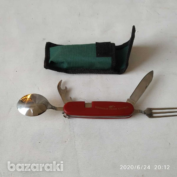 Camping dining knife fork spoon-2