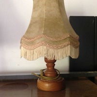 Dutch vintage table lamp