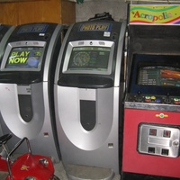 Touch screen coin computer