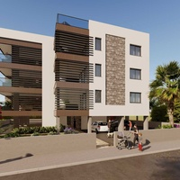 Under construction two bed apartment in agios dometios