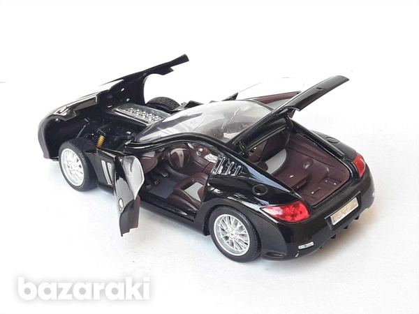 Burago collectible diecast model car peugeot 907 1/18 scale in good co-4