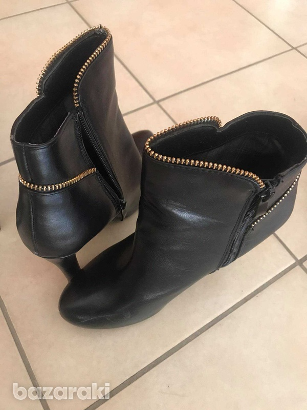 Black ankle boots-1