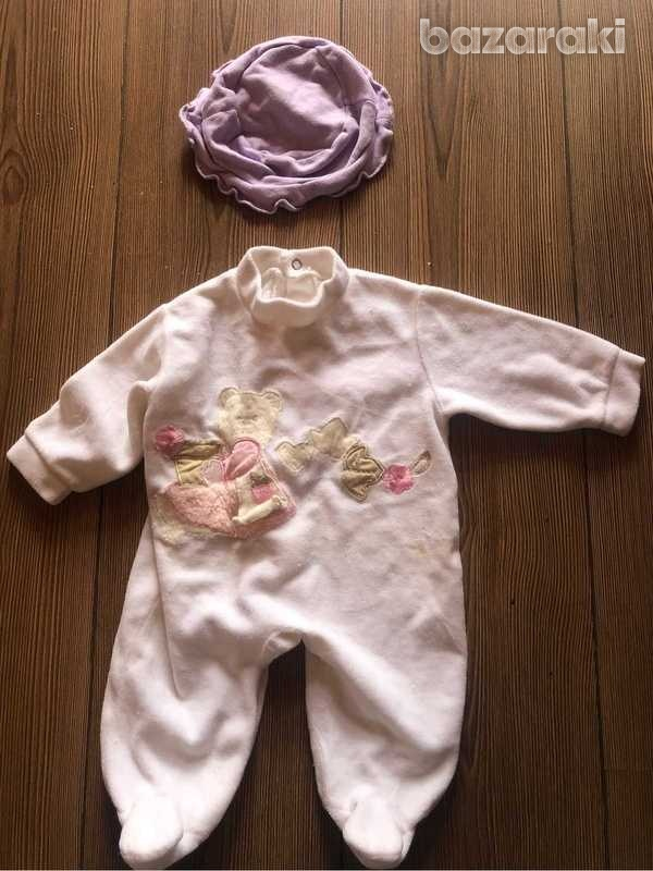 Baby sleepsuits 0-3 months - three available-3
