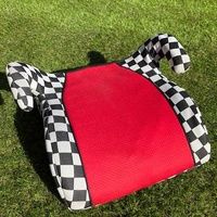 Checked race car seat