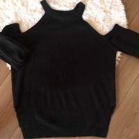 Terranova black jumper - large