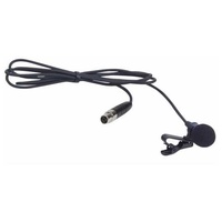 El-1 lavalier mic for use with beltpacks of eclipse range