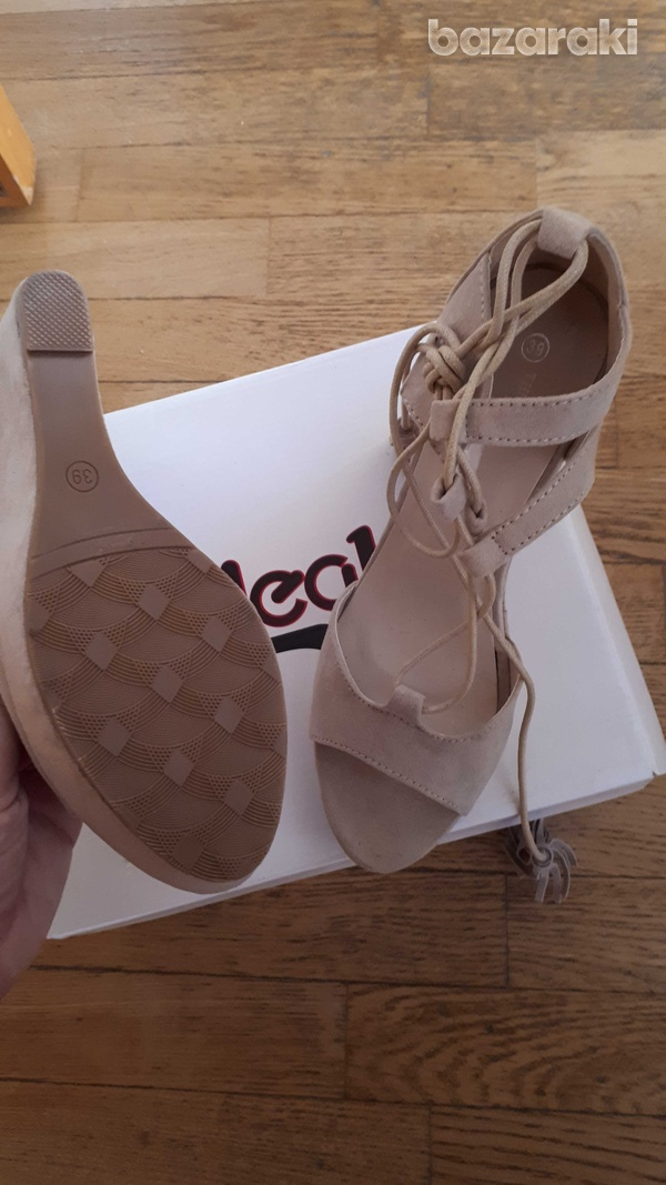 Brand new corso italy brand new pastel pink sandals from corso italy-2