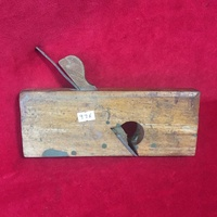 Carpenters wooden flatbed plane no976