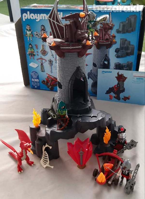 Playmobil 5089 knights battle in the dragon tower-2