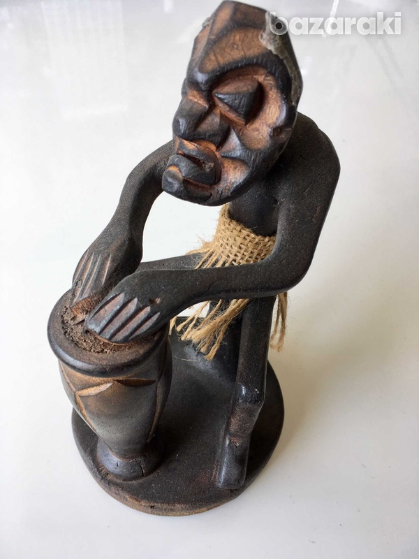 Devil with a drum from bali-1
