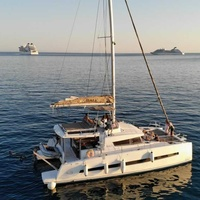 Catamaran bali for private charters for 18 passengers in limassol