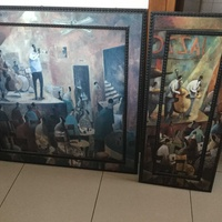 Paintings set
