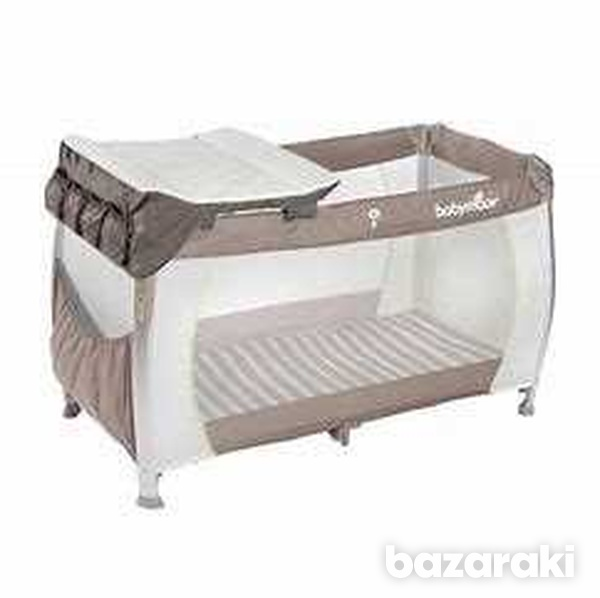 Babymoov bed and change with mattress-2