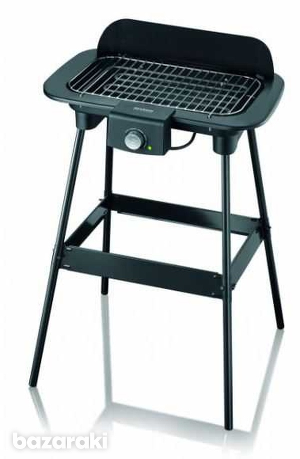 Severin pg8550 grill table with stand 2300w-1