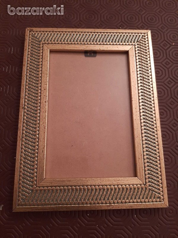 Small gold photo frame x2