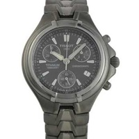 Tissot titanium chronograph watch t-675