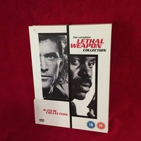 Lethal weapon original 4 film collection on 4 dvd,s
