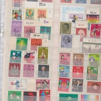 Code e86 germany 105 mnh stamps
