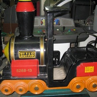 Coin operated train