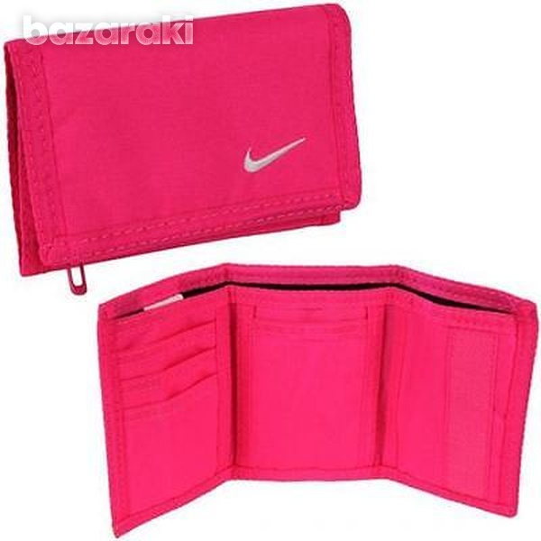 Mens womens nike basic wallet money notes coins credit card wallet wi