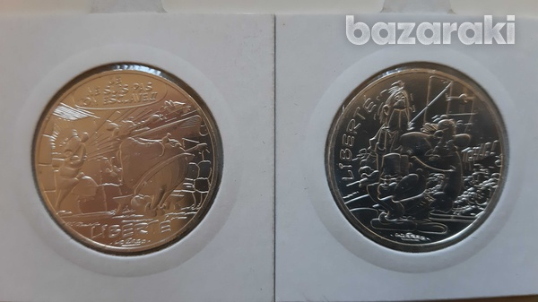 France 12 silver collector's coins with asterix - look at the pictures-4