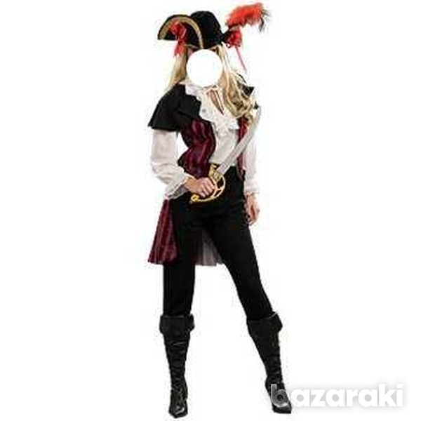Rubie's pirate costume and hat-2