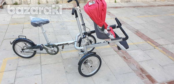 Bicycle and baby pram in one-7