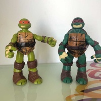 Two original turtles from back in 90s- like new- very rare figures