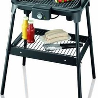 Severin pg8548 grill table with stand 2500w