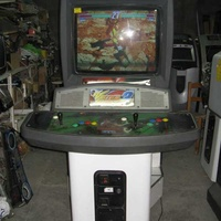 Genesis video game 40 inch arcade cabinet