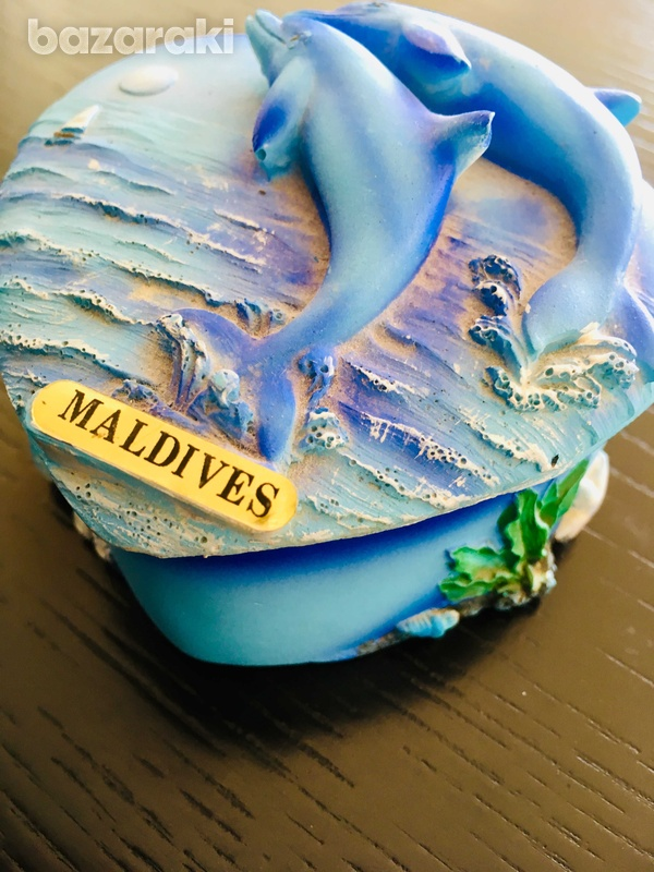 Maldives heart jewelry box-1