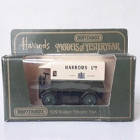 Collectible diecast model matchbox y29 walker electric van.
