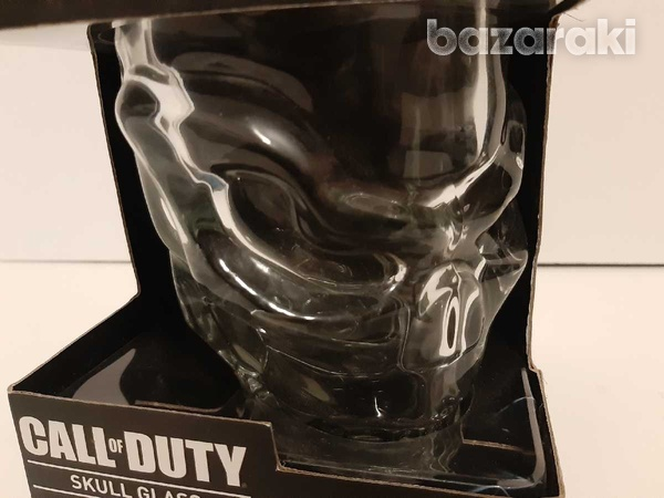 Call of duty collectable skull glass-3
