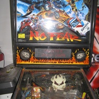 No fear pinball flipper machine