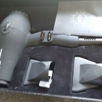 H2d unused professional ionic and infrared hair dryer