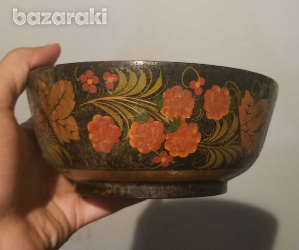 Wooden bowl made in ussr-1