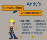 Andys Construction and Maintenance