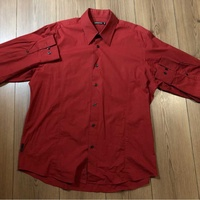 Springfield red wine shirt