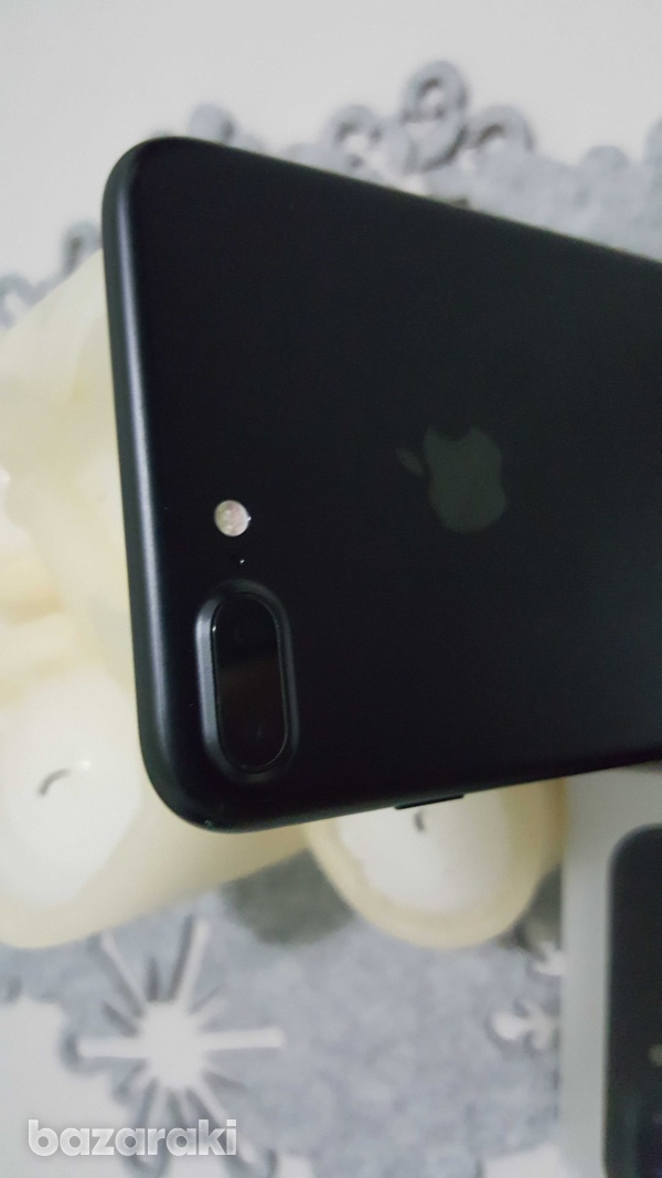 Apple iphone 7 plus 128gb black - with box and accessories-5