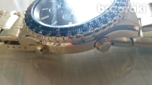 Accurist mb1030b wrist watch gold colour digital and analog-3