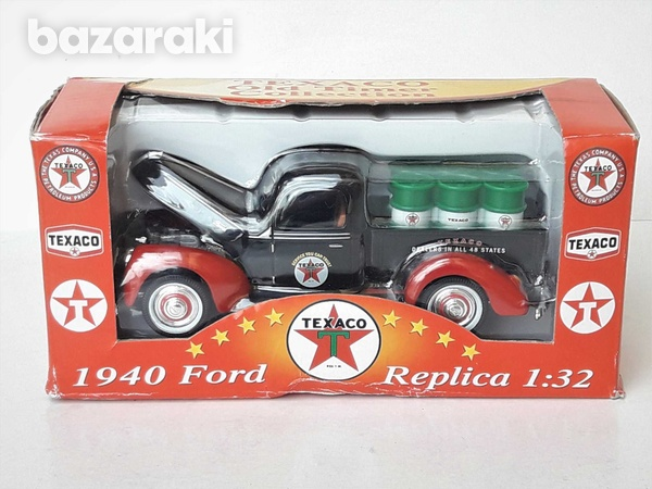 Collectible texaco diecast model 1940 ford old delivery pick up 1/32-1
