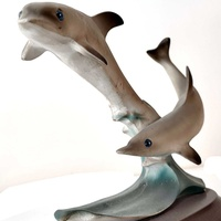 Dolphins small statue