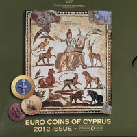 Cyprus 2012 uncirculated coin set in blister